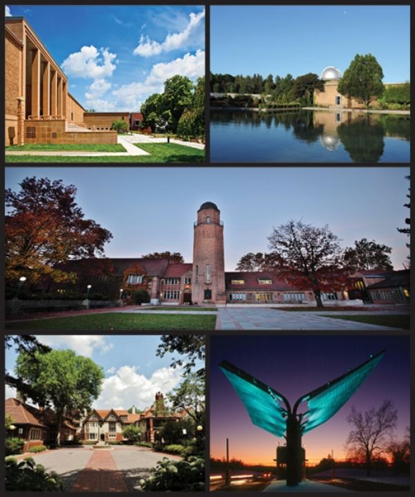 Cranbrook Educational Community Photo Collage