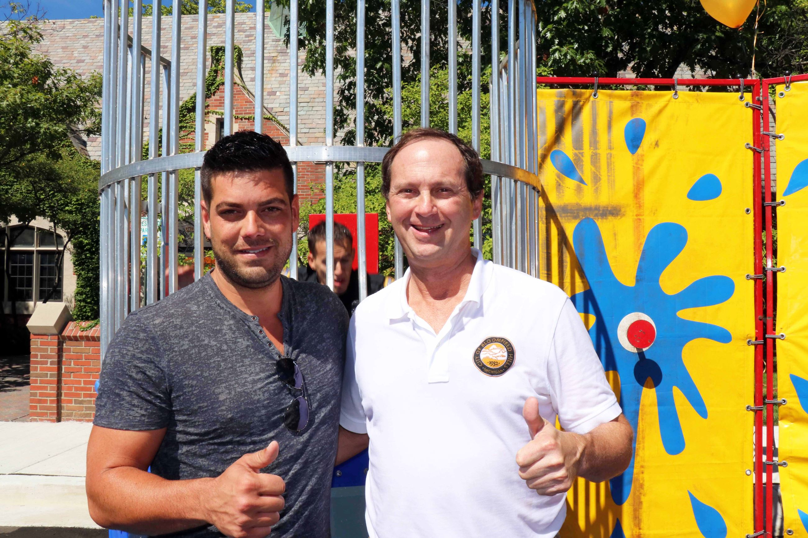 Citizens with Dunk Tank